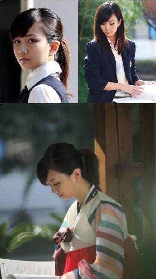 ▲중국 온라인 사이트에 등장한 평양 얼짱녀/중국 포털 사이트