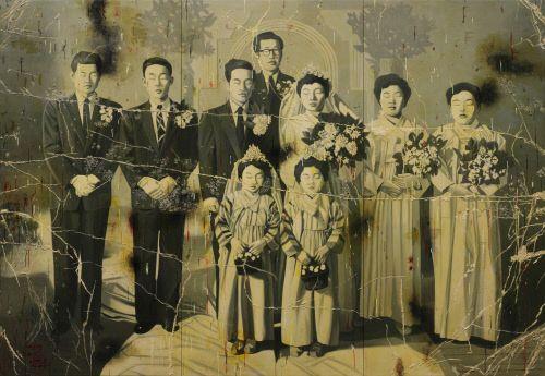 안창홍 Arirang 20121, 캔버스에 유화 및 혼합재료, 249.1x361.6cm. 제공 | 더페이지갤러리