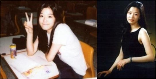 전지현 졸업사진이 네티즌들 사이에서 화제가 되고 있다./온라인 커뮤니티