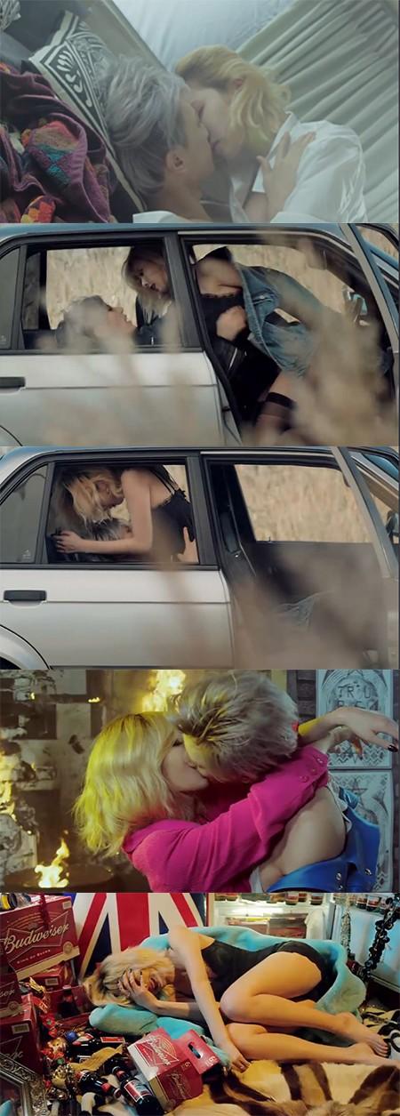 내일은 없어 뮤직비디오가 폭력성, 선정성 때문에 19금 판정을 받았지만 높은 조회수를 끌고 있다. /유튜브 영상 캡처