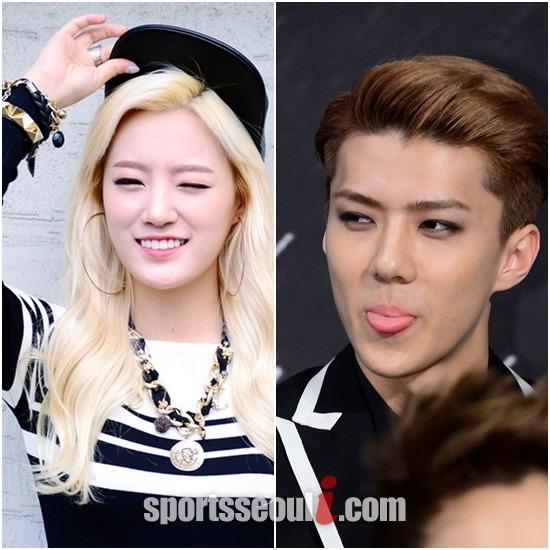 Exo dating 2014