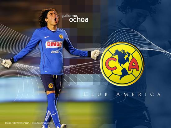 2014브라질 월드컵에서 신들린 선방을 보여주며 골든 글러브에 가장 가까이 있다고 평가받는 멕시코의 오초아 골키퍼/사진=CLUB AMERICA 공식 홈페이지