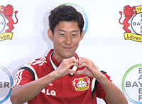 [TF영상] '레버쿠젠 손흥민', 그녀를 위한 '사랑의 하트!'