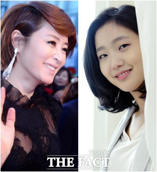 배우 김혜수(왼쪽)와 김고은이 영화 코인로커걸에 캐스팅됐다./남윤호-김슬기 기자