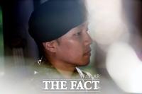 [TF포토] 상추, 말 많던 군생활... '전역했습니다'
