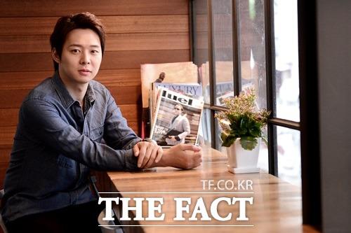 박유천은 '해무'를 촬영하면서 심성보 감독과 굳은 의지를 다졌다고 말한다./남윤호 기자