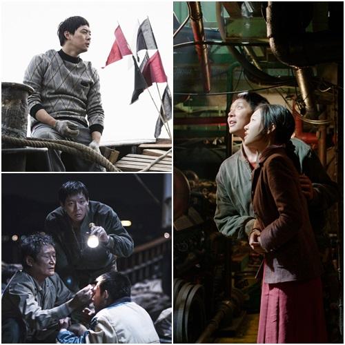 '해무'에서 박유천이 맡은 역은 막내 선원 동식. 동식은 홍매와 묘한 로맨스를 보여준다./영화 스틸