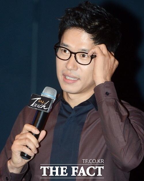 배우 유준상이 자신이 직접 제작한 걸그룹 타우린의 작명 의미를 밝혔다./더팩트DB