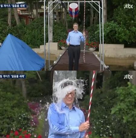 박보검, 션의 아이스버킷 챌린지 응했다 선한 영향력