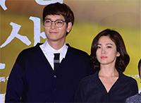 [TF영상] '두근두근 내 인생' 교복 연기, 송혜교는 '무안' 강동원은 '즐거워'