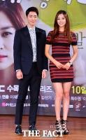 [TF포토] 이준혁-장신영, '늘씬한 커플'