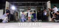 [TF포토] '난방비 비리 기자회견 갖는 김부선'