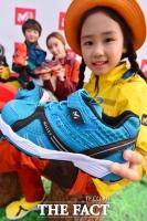 [TF포토] 밀레, 2014 F/W 라인업으로 아동용 아치스텝 출시