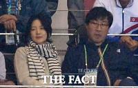 [TF포토] 이영애, '남북 축구 대결 보러 왔어요'