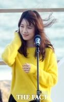 [TF포토] 구혜선, '흩날리는 머릿결…여성미 물씬'