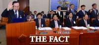 [TF포토] 국정감사에서 선서하는 대기업 대표들