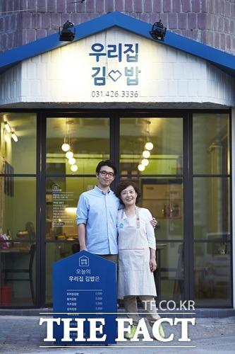 드림실현 프로젝트의 9호점 김밥집은 현대카드와 현대캐피탈의 도움으로 매출 상승 효과를 보고 있다.