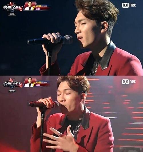 슈퍼스타K6 곽진언 소격동이 1위를 한 가운데 김필은 혹평을 받아 대조를 보였다. /Mnet 슈퍼스타K6 방송화면 캡처