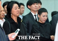 [TF포토] 김부선-리아, '망연자실한 얼굴'