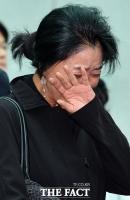 [TF포토] 김부선, '믿기지 않는 현실에 오열'