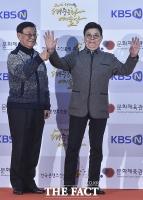 [TF포토] 남성남-남보원, '신나는 포토월'