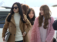 [TF영상] 제시카 빠진 '소녀시대', 중국 난징으로 출국!