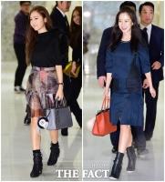 [TF사진관] '패션을 좀 아시나봐요?'…제시카-송지효, '느낌이 통했어!'