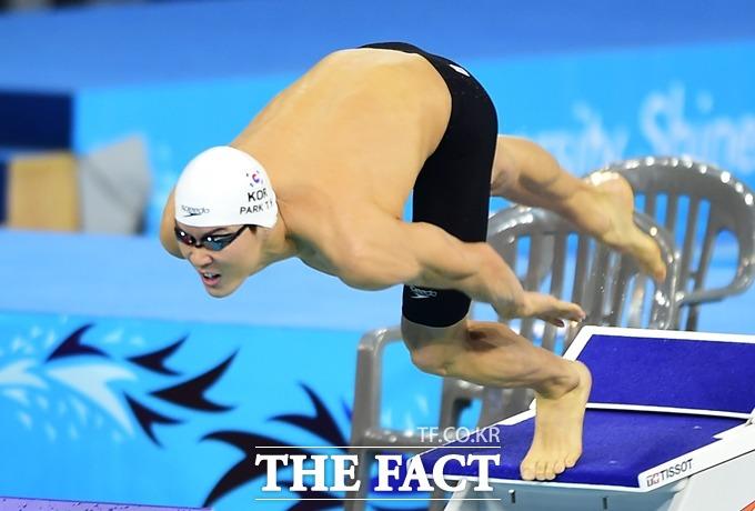 박태환은 한국을 대표하는 수영 선수로 활약하며 수많은 메달을 목에 걸었다. /더팩트DB