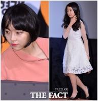 [TF사진관] 이아이-김지민, '섹시 vs 청순' 매력 대결