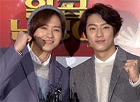 [TF영상] '일곱난쟁이' VIP 시사회, '바로 응원 온 B1A4 멤버들'