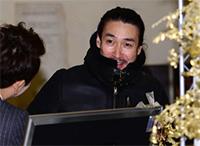 [TF영상] '성민♥김사은' 신성우, '리포터에게 잡혀 온(?) 테리우스'