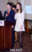 [TF포토] 배지현 아나운서, '어디서나 돋보이는 단아한 미모'