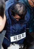 [TF포토] 자택 현장검증 마친 '토막살인' 피의자 박춘봉