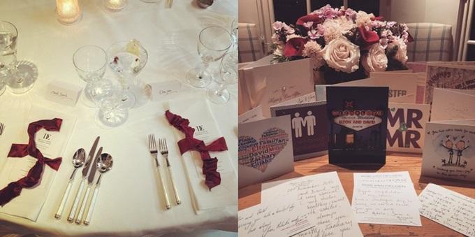 존은 자신의 SNS 계정에 결혼식 내부 사진을 올리며 기쁜 마음을 나눴다. /존 인스타그램