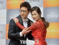 [TF포토] 조우종-김지민, '카리스마 넘치는 표정 대결'