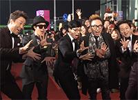 [TF영상] 'MBC 방송연예대상' 무한도전, '인기 대폭발!'…'허술한 펜스 무너져'