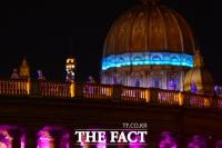 [TF포토] 세계적인 명소의 야경을 담을 수 있는 아인스월드의 빛축제