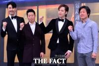 [TF포토] 차승원-유해진-장근석-나영석, '삼시세끼 파이팅!'