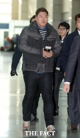 [TF포토] 류현진 출국, '올 시즌 200이닝 목표'