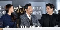 [TF포토] 설현-정진영-이민호, '강남 1970 대박 예감?'