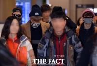 [TF사진관] 비스트, 베이징에선 '배드 럭(bad luck)'...무거운 발걸음