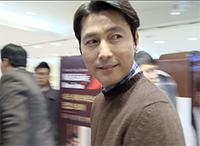 [TF영상] 정우성과 '티타임'…'커피 한잔 하실래요?'