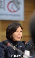[TF포토] 오픈프라이머리 관련 발제하는 나경원 의원