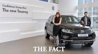 [TF포토] 폭스바겐 신형 투아렉, 럭셔리 SUV의 완성판