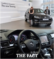 [TF사진관] 폭스바겐 신형 투아렉, 세상에서 가장 완벽한 럭셔리 SUV