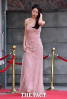 [TF포토] 배민정, '핑크빛 여신 자태'
