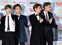 [TF영상] '가온차트 어워드' 엑소 백현, '레드카펫에서 널뛰기!'