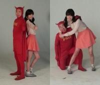 박명수-리지, '세균맨-깜찍이'로 변신…'왜?'