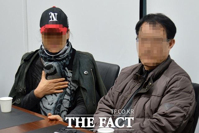 답답합니다. 김현중의 부모가 <더팩트>와 인터뷰에서 최 씨에게 특정 병원을 강요한 일은 없다고 밝혔다. /문병희 기자