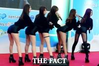 [TF사진관] 타임스퀘어 마비 시킨 EXID의 공연, '강제 컴백'될만 하네!